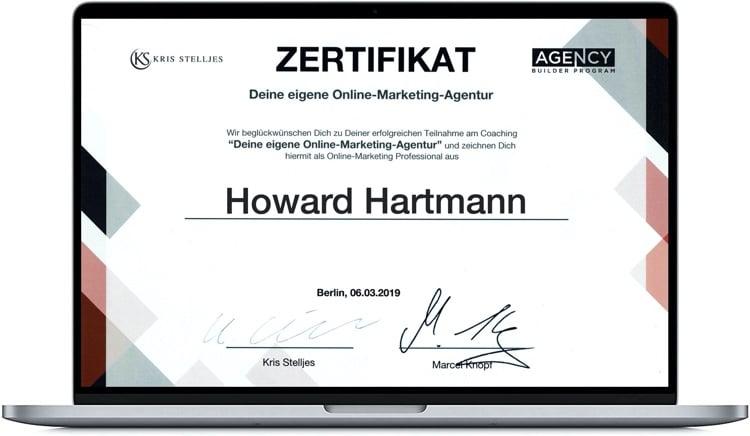O.M.A. Zertifikat HH